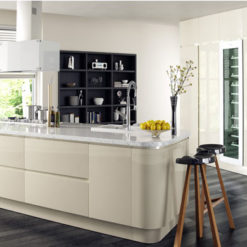 Riley James Siddington Gloss Ivory Kitchen