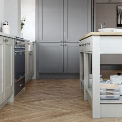 Burleigh Light Grey & Dust Grey 1 from Riley James Kitchens Gloucestershire