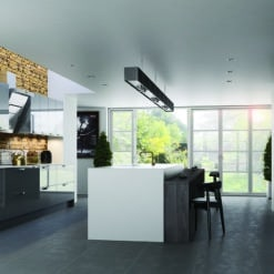 Cerney Gloss Dust Grey Main, from Riley James Kitchens Gloucestershire