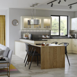 Cerney Gloss ivory Hero, from Riley James Kitchens Stroud
