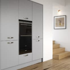 Cerney Soft Matte Dust Grey Cameo 2, from Riley James Kitchens Stroud