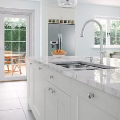 Cherington_light-grey_cameo_lifestyle - from Riley James Kitchens Gloucestershire