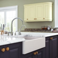 Hampton Painted Cameo Sink by Riley James Kitchens Stroud