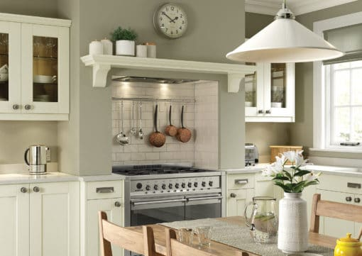 The Kemble Shaker Kitchen - Ivory Cameo from Riley James Kitchens Stroud