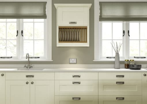 The Kemble Shaker Kitchen - Ivory Cameo 2 from Riley James Kitchens Stroud