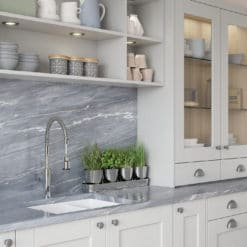 The Kemble Shaker Kitchen - Light-Grey-Cameo-2 - from Riley James Kitchens