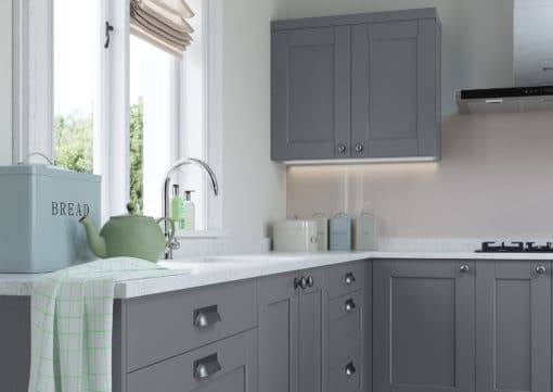 The Kemble Shaker Kitchen - Light-Grey-and-Dust-Grey-Cameo-1 - from Riley James Kitchens Gloucestershire