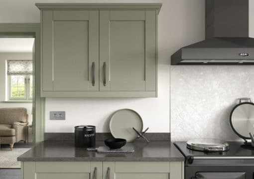 Kemble-Painted-Sage-Green-Cameo-1 from Riley James Kitchens Gloucestershire