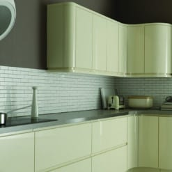 Siddington Gloss Ivory from Riley James Kitchens Stroud