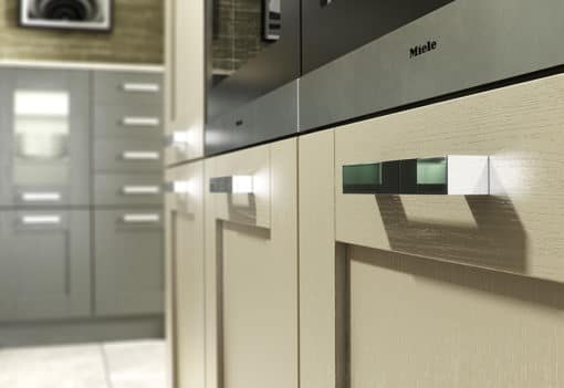 Tewkesbury shaker Kitchen - Lava & stone kitchen cabinets, from Riley James Kitchens Gloucestershire
