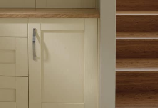 malborough-painted-ivory-kitchen-cabinets - from Riley James Kitchens GLoucestershire