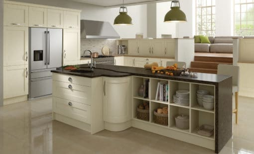 malborough-painted-ivory-kitchen-hero - from Riley James Kitchens Stroud