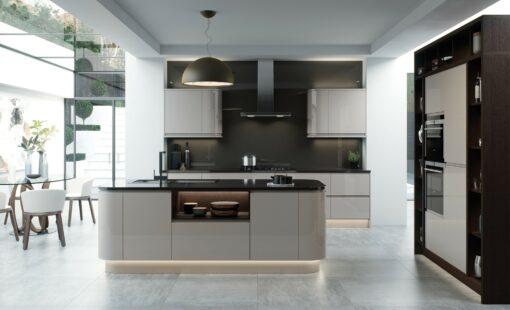 Riley James Siddington Gloss Cashmere Kitchen