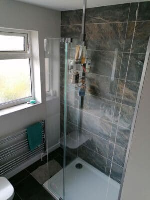 Cam Bathroom - Walk-in shower 1 - from Riley James Bathrooms Stroud