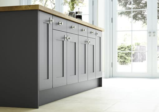 The Burleigh Smooth Shaker, from Riley James Kitchens Gloucestershire