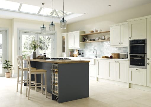 The Burleigh, Porcelain and Graphite Main, from Riley James Kitchens Gloucestershire