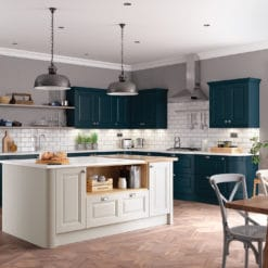 The Hampton Painted Shaker Kitchen, from Riley James Kitchens Gloucestershire