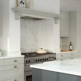 The Kemble Shaker kitchen, from Riley James Kitchens Gloucestershire (Mussel & Lava cameo 1)