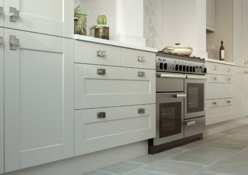 The Kemble Shaker kitchen, from Riley James Kitchens Gloucestershire (Mussel & Lava cameo 2)