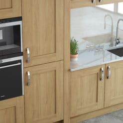 The Oakridge Kitchen, Oak Painted Stone - An Oak Shaker Kitchen from Riley James Kitchens Gloucestershire