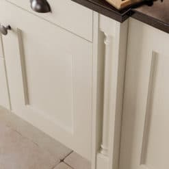 The Woodchester Kitchen - Ivory kitchen box pilaster, from Riley James Kitchens Stroud