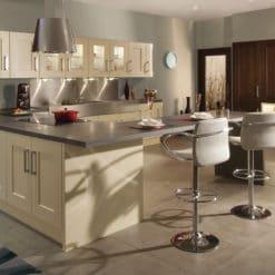 The Oakridge Kitchen, Oak Wenge & Cream Hero - An Oak Shaker Kitchen from Riley James Kitchens Gloucestershire