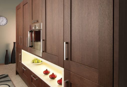 The Oakridge Kitchen, Oak Wenge and Cream - An Oak Shaker Kitchen from Riley James Kitchens Gloucestershire