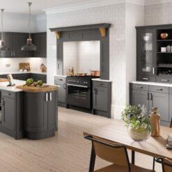 Burleigh Kitchen - Anthracite - Riley James Kitchens Gloucestershire