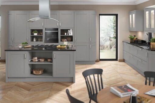 Burleigh Kitchen - Dust Grey - Riley James Kitchens Gloucestershire