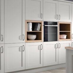 Burleigh Kitchen - Light Grey - Riley James Kitchens Gloucestershire