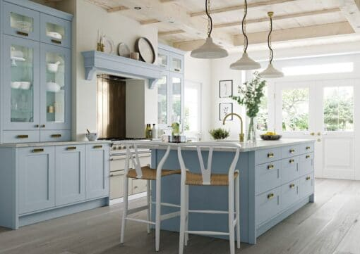 Burleigh Pantry Blue from Riley James Kitchens Stroud