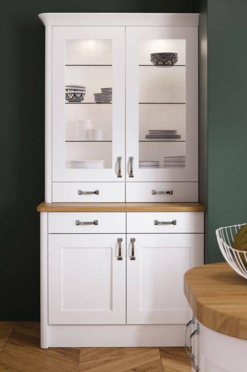 Burleigh Kitchen - White - Riley James Kitchens Gloucestershire