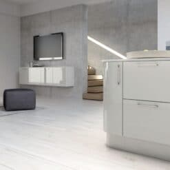 Cerney Gloss - Light Grey - from Riley James Kitchens