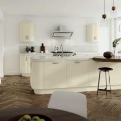Cerney Matte Ivory - by Riley James Kitchen Gloucestershire