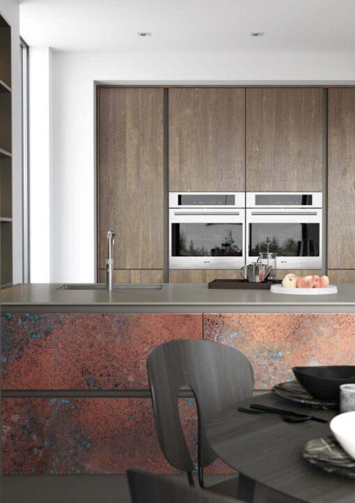 Frampton Oxidized Copper and Rezana Espresso Oak_Cameo 3 - By Riley James Kitchens, Stroud