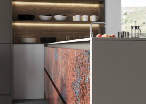 Frampton Oxidized Copper and Rezana Espresso Oak_Cameo 4 - By Riley James Kitchens, Stroud