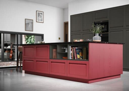 Haresfield Graphite and Chicory Red_Cameo 1_ - By Riley James Kitchens, Gloucestershire