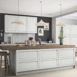 Haresfield Light Grey_Cameo 1_ - By Riley James Kitchens, Gloucestershire