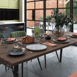 Haresfield Slate Blue, Stone and Citrus Green_Cameo 4_ - By Riley James Kitchens, Gloucestershire
