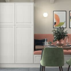 Haresfield Slate Blue, Stone and Citrus Green_Cameo 5_ - By Riley James Kitchens, Gloucestershire