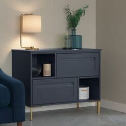Haresfield Slate Blue, Stone and Citrus Green_Cameo 7_ - By Riley James Kitchens, Gloucestershire