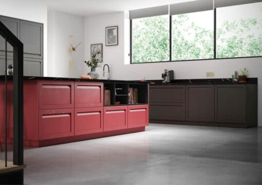 HaresfieldGraphite and Chicory Red_Cameo 2_ - By Riley James Kitchens, Gloucestershire