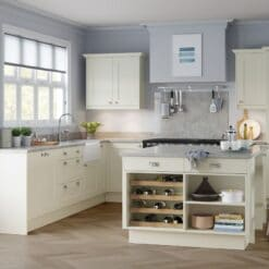 The Kemble Shaker Kitchen in Porcelain, from Riley James Kitchens Gloucestershire