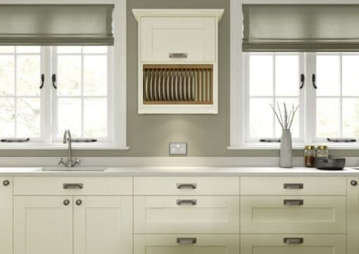 The Kemble Shaker Kitchen in Ivory, from Riley James Kitchens Gloucestershire
