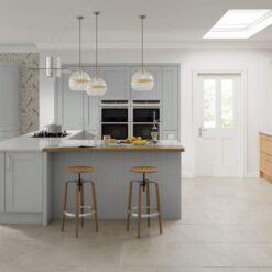 Malborough - Silver Grey - by Riley James Kitchens