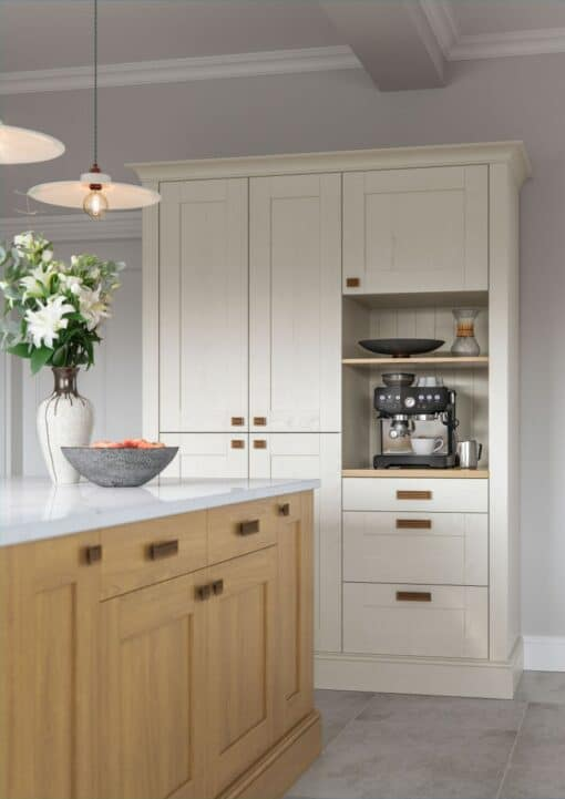 Malborough Light Oak and Ivory_Cameo 3 - by Riley James Kitchens