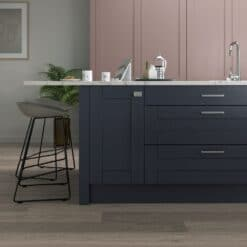 Malborough Vintage Pink and Slate Blue Cameo 3 - by Riley James Kitchens