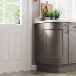 The Oakridge Kitchen, in Light Grey & Carbon from Riley James Kitchens Gloucestershire