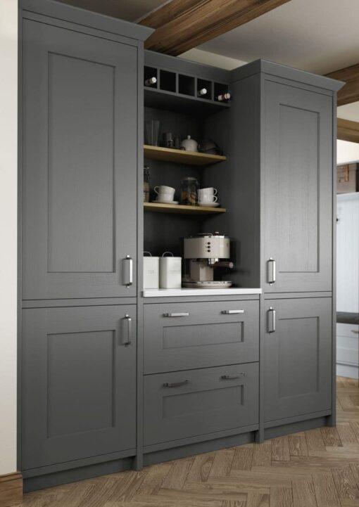 The Oakridge Kitchen, in Gun Metal Grey from Riley James Kitchens Gloucestershire