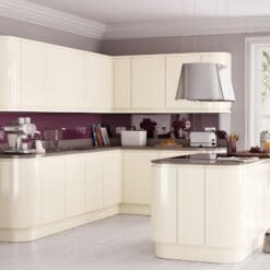 The Siddington Gloss in Cream from Riley James, Gloucestershire